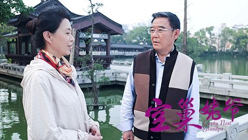 由实力老戏骨李立群[微博],刘佳领衔主演,正在央视一套黄金档热播,且图片