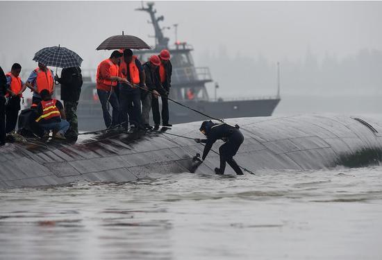 东方之星所属公司被要求整改 姊妹船东方之珠停航检查