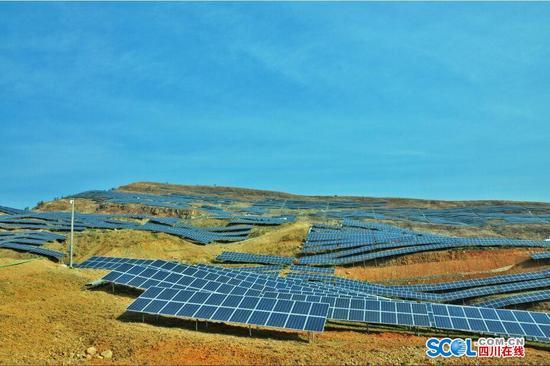 攀枝花万家山3万千瓦光伏发电项目