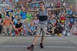 神剪辑视频 小伙100个地点跳同一支舞