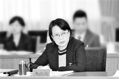 中央纪委常委,山西省委常委、省纪委书记 黄晓薇