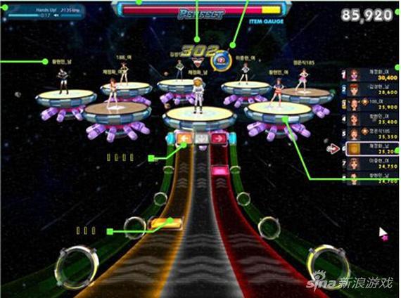 《劲舞团3》星际模式