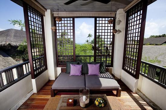 Anantara Lawana -Deluxe_Lawana_balcony