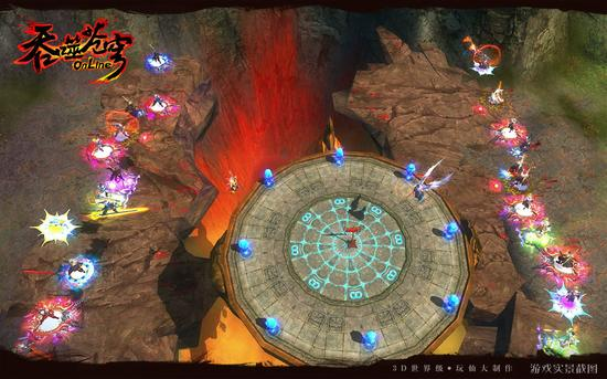 图8 《吞噬苍穹》极致战斗
