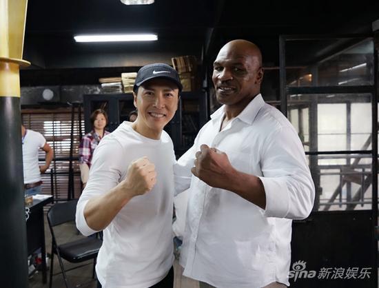 甄子丹和拳王泰森
