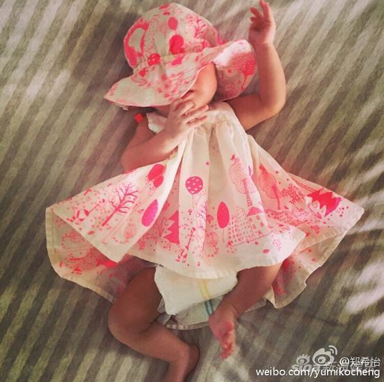 郑希怡女儿