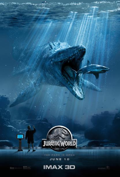 《侏罗纪全球》IMAX小海报