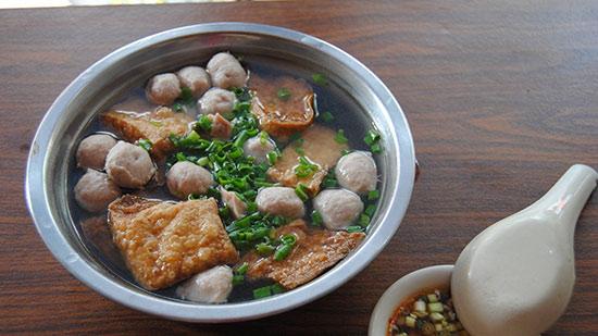 肉丸豆腐角