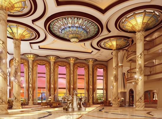 上海迪士尼乐园酒店 - 大堂
