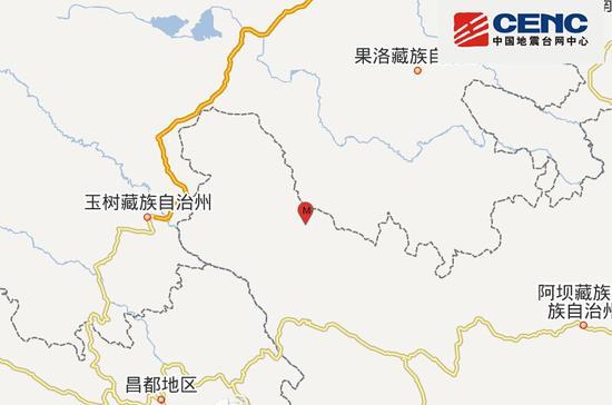 四川石渠地震