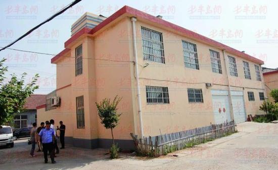 陈某曾藏身于这栋二层小楼。