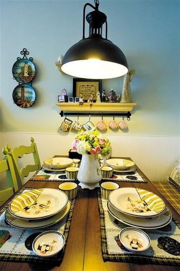餐边风景 用色彩照亮你吃饭的心情