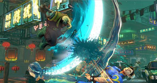 《街头霸王5》游戏截图