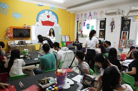 第四届格致学院少儿美术教师特训营圆满结束
