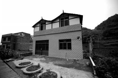 4名留守儿童生前居住的房屋。