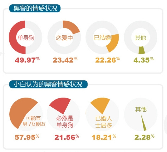 你不知道的中国黑客:一半以上月薪不到8000