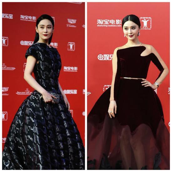 第18届上海电影节开幕 范冰冰张馨予狭路相逢