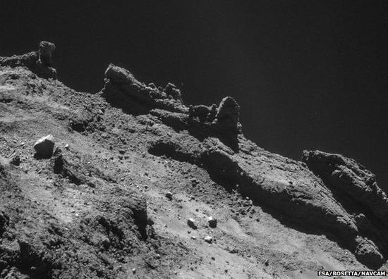 菲莱探测器的设计目的是着陆并对组成彗星地表的水冰与岩石成分进行分析