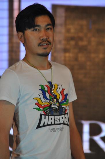 内蒙古首届蒙古元素T恤发布会隆重举行