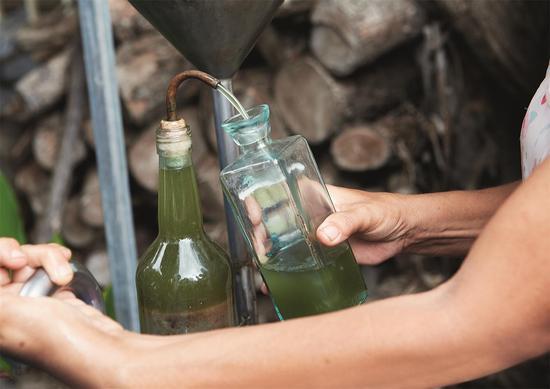 20、刚刚提炼出的最原生的天竺葵精油