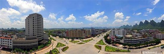 宜州经济开发区全景