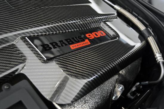 Brabus版奔驰迈巴赫S600 动力达900 PS图片