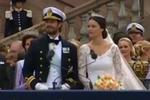 瑞典王子大婚现场 王妃曾是真人秀模特女星