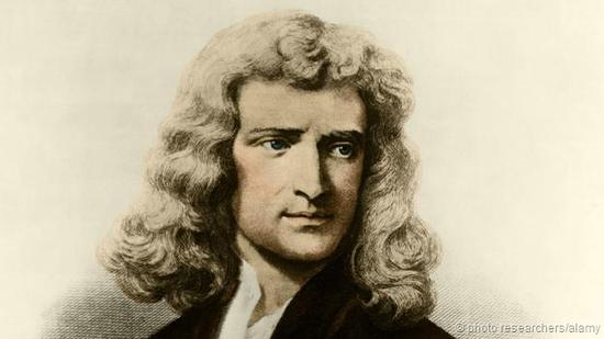 经典物理学的先驱,英国物理学家伊萨克·牛顿