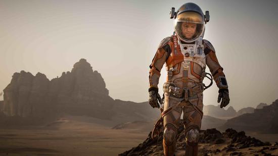 马特・达蒙在《火星救援》被遗留在火星