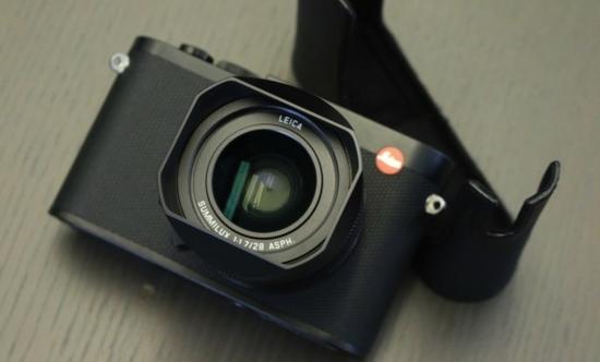 璐ュ鏂扮悊鐢� 鍏ㄧ敾骞呯収鐩告満Leica Q鍙戝竷