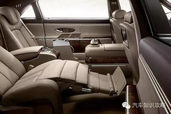 """3款自带霸气""""飞机舱""""的豪车 头等舱般享受"""