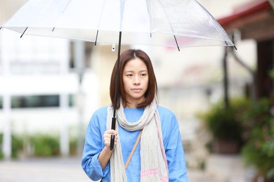 林嘉欣为演出的《百日告别》出席台北电影节闭幕片首映