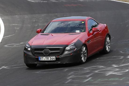 Mercedes-Benz SLC spy 06