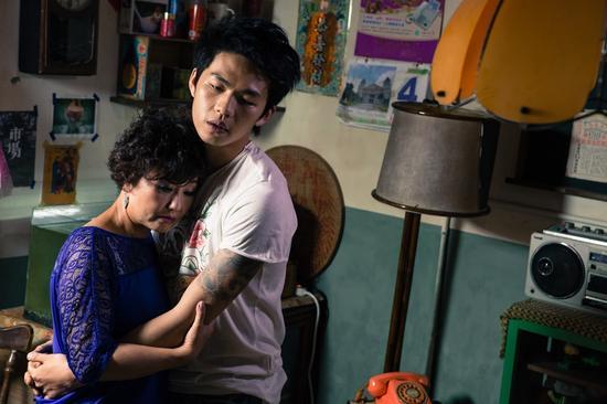 吕雪凤在《醉.生梦死》中演出不愿接受儿子同志身分的草根母亲