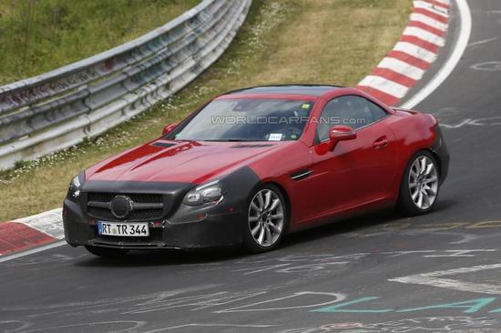 Mercedes-Benz SLC spy 01