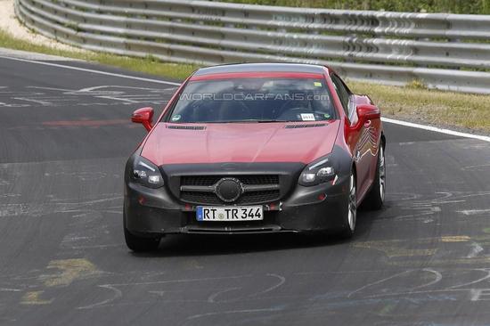Mercedes-Benz SLC spy 05