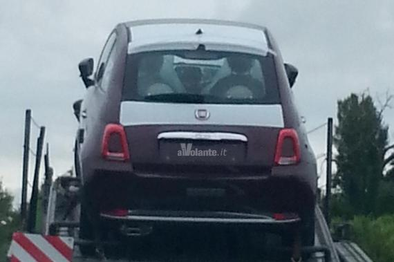 Fiat 500 facelift spy 02