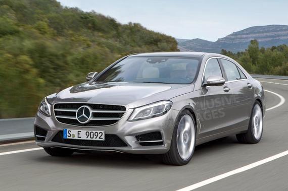 Mercedes-Benz E-Class 假想图