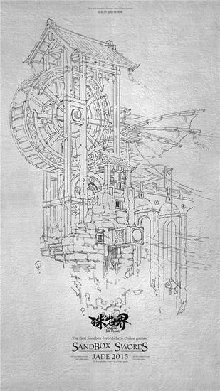 而欣赏这组徽派建筑手札,可谓精雕细缕,结构严谨,河阳城的独特风格已
