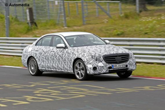 Mercedes-Benz E-Class 谍照