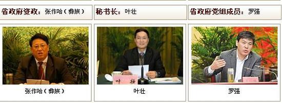 四川省政府网站截图