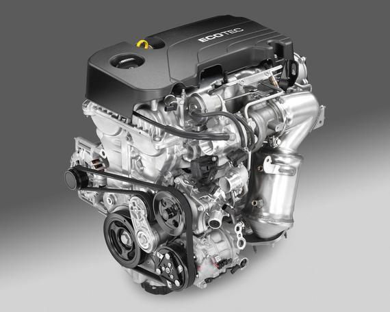 Opel Astra 1.4 ECOTEC Direct Injection Turbo engine