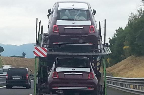 Fiat 500 facelift spy 03