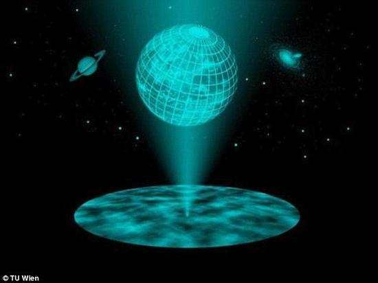"""根据马瑟博士的理论,如果更为流行的黑洞""""火墙""""理论是正确的,那么宇宙全息理论就必然是错误的了"""
