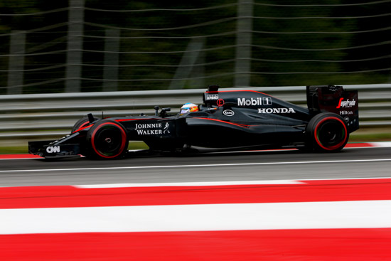 迈凯轮车队阿隆索