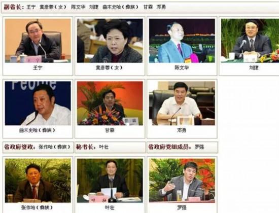 四川省政府网站截图(6月19日)。
