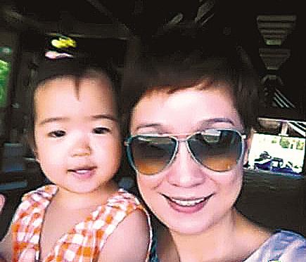 王海燕和女儿张译心
