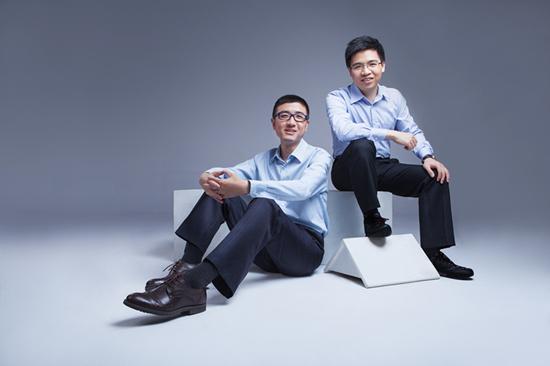 胡海清(左)和郑毅(右)