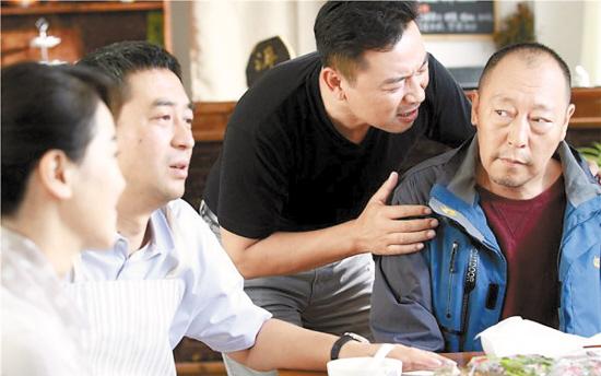 倪大红(右)和张嘉译是多年密友