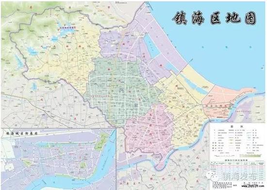 镇海区行政区划将调整